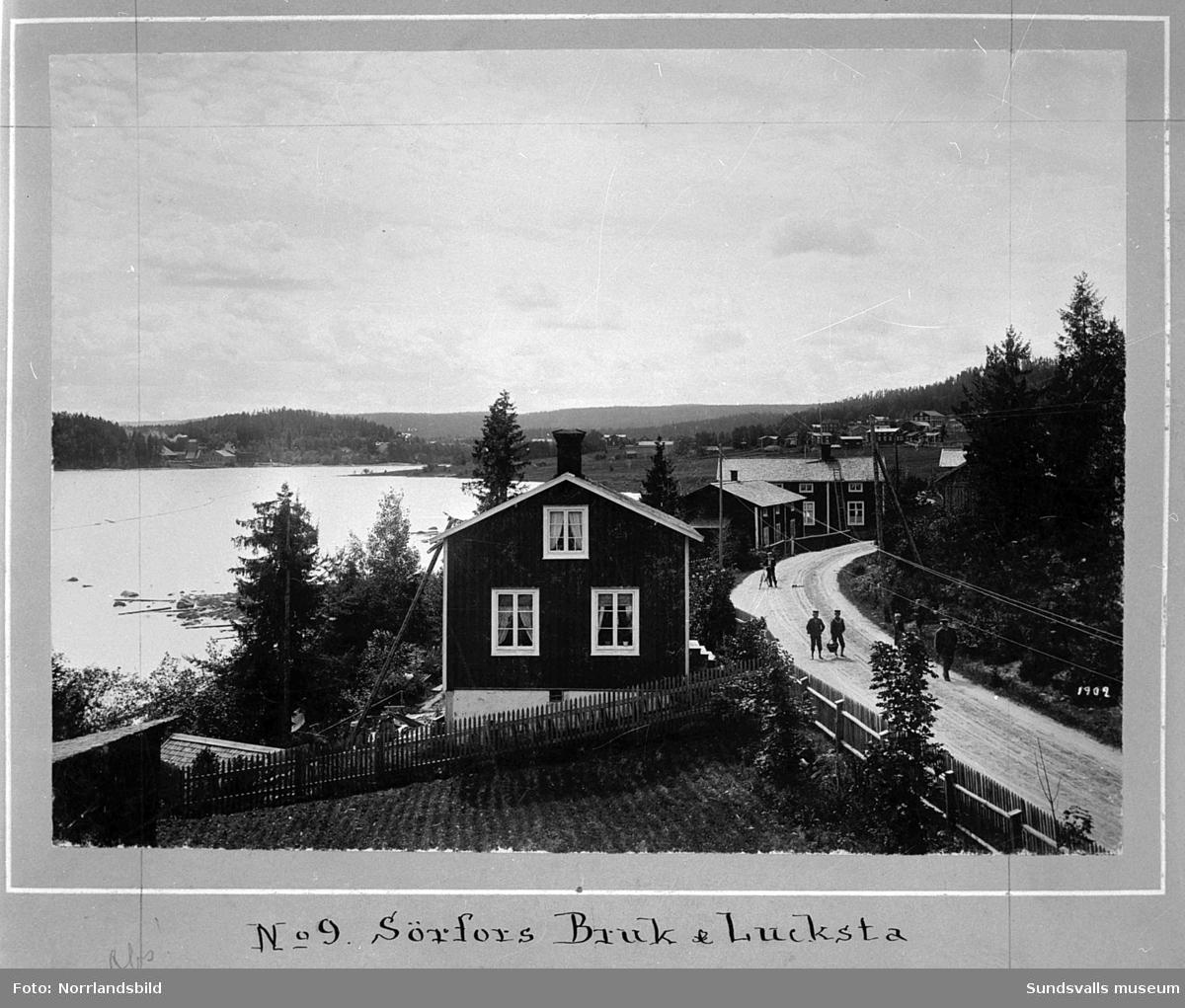 Gamla bilder frn Attmar och Srfors 1902. Originalfoto av