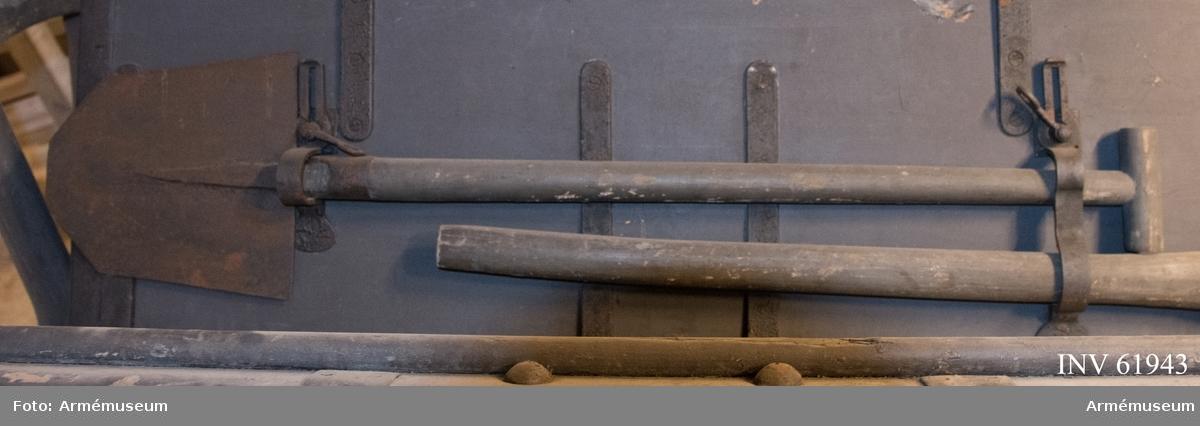 Grupp F I. Till 4-pundig bakladdningskanon av Krupps system med rundkil.