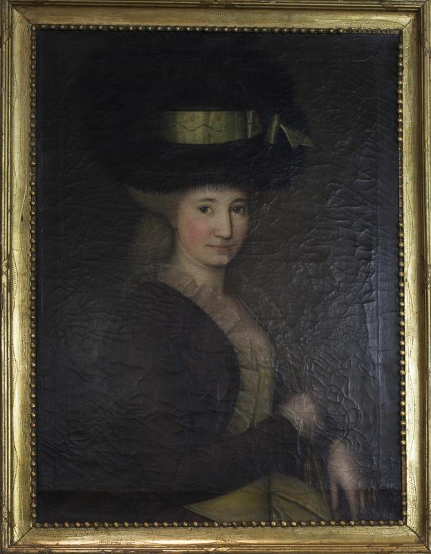 """""""Portrett av ukjent kvinne i ridedrakt"""" (ca. 1750)"""
