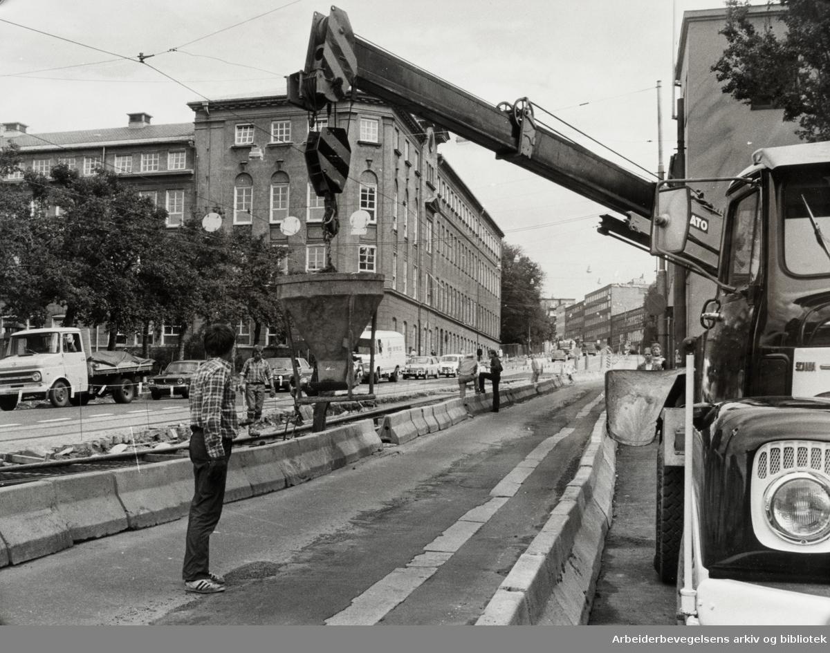 Carl Berners plass. Juli 1978