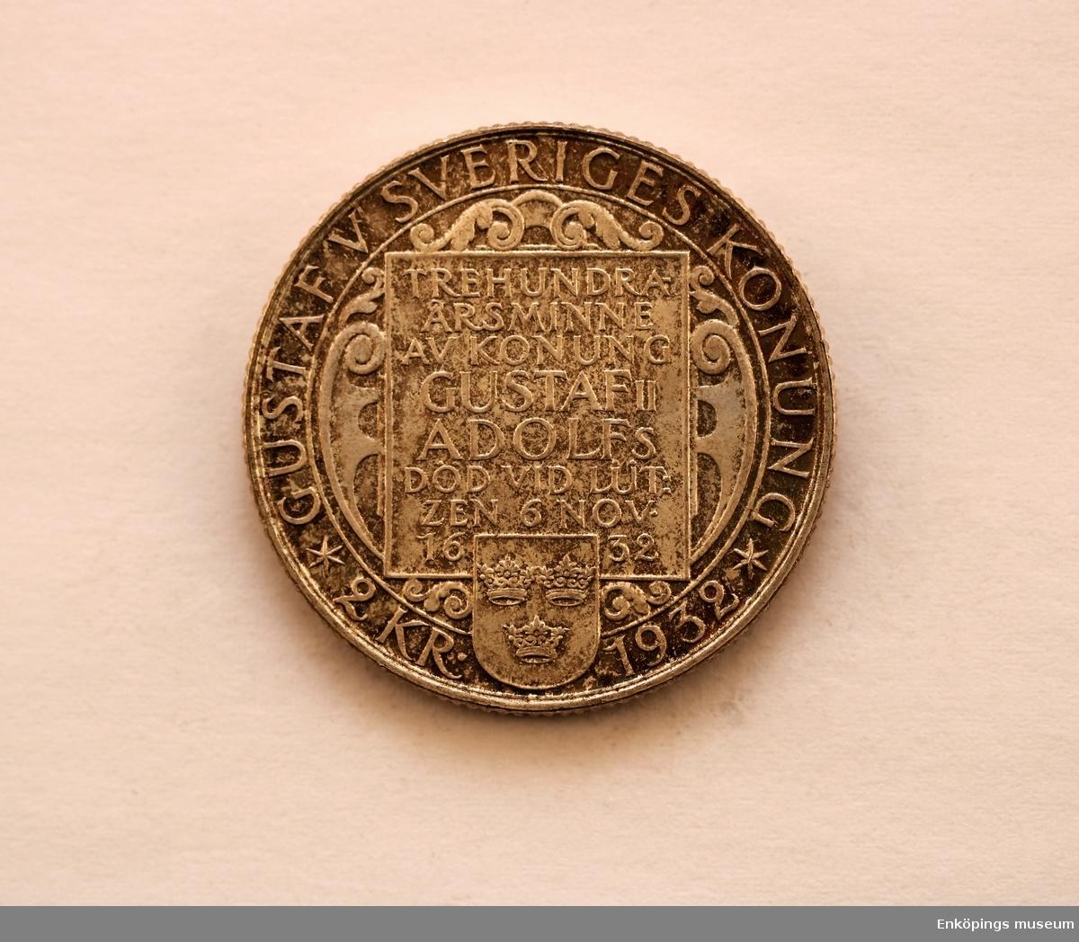 Typ III, 300-årsminnet av Gustav Adolfs död.
