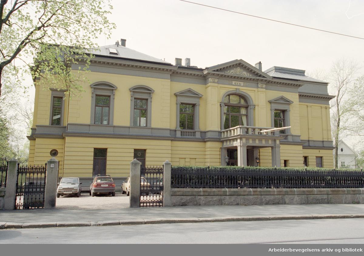 Drammensveien. Vitenskapsakademiet. 21. mai 1996