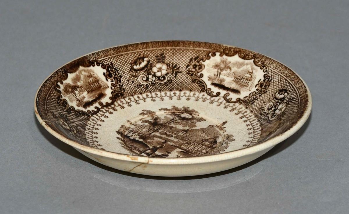 Skål av keramikk.