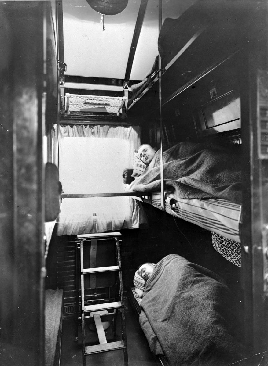 Statens Järnvägar, SJ 3 klass sovvagn