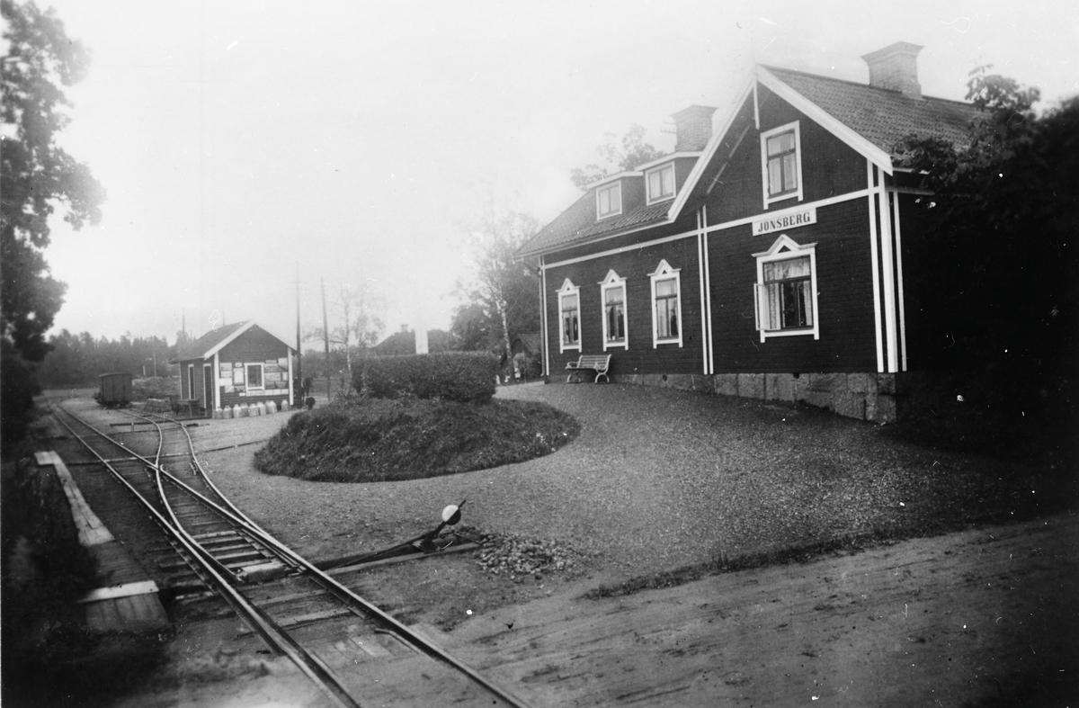 Station  Vikbolandsbanan Spårvidd 891