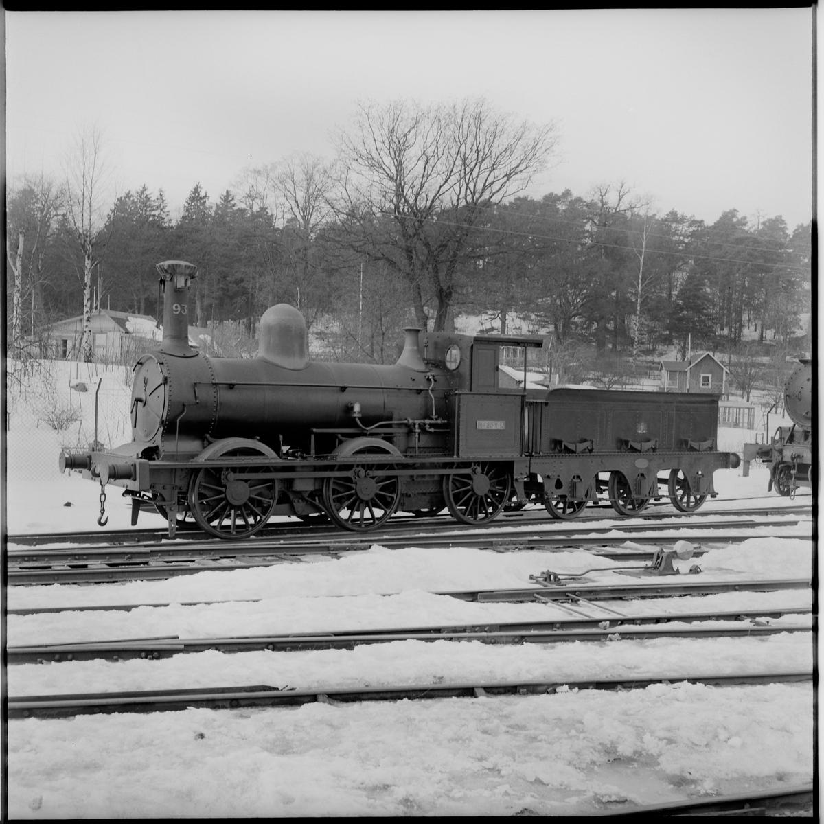 """Statens Järnvägar, SJ G 93 """"Jernsida""""."""