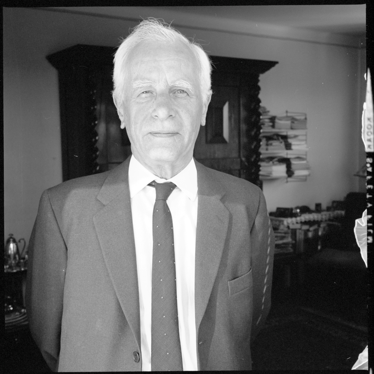 Förste Trafikinspektör (Fti) Erik Enhage