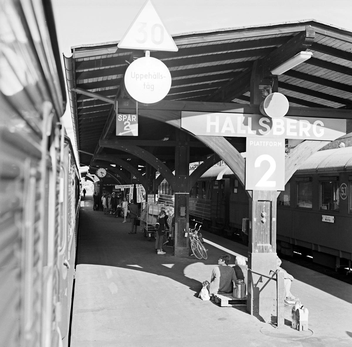 Tågföring, reportage