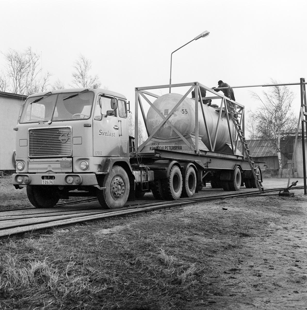 Containertransport Ör - Gyttorp