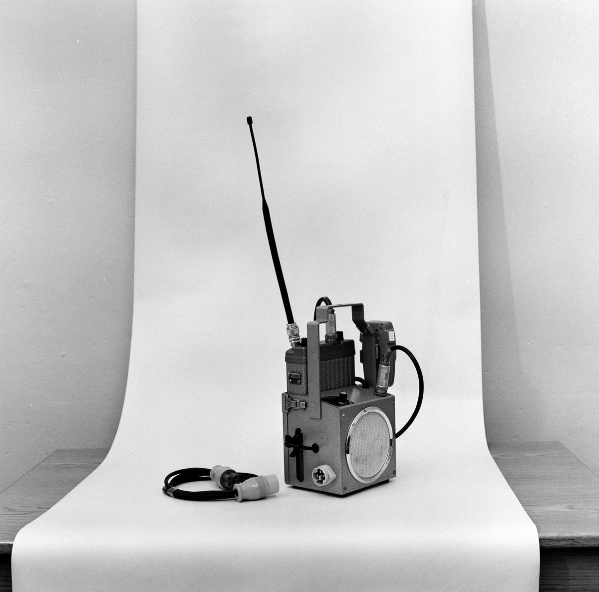 Radioutrustning batteri.