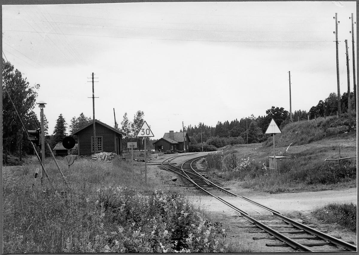 Hjorted stationsområde.