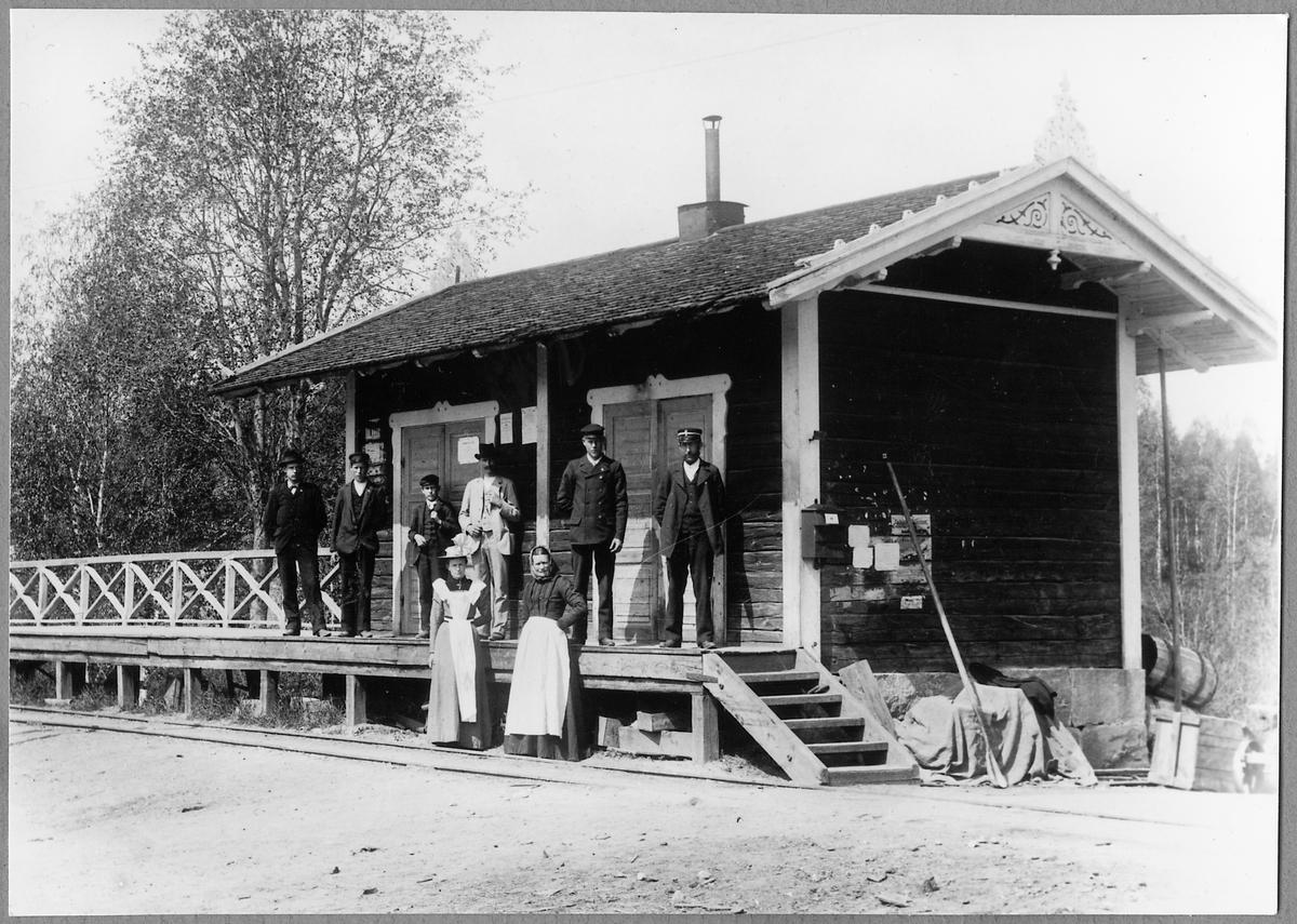 Sandsta station.