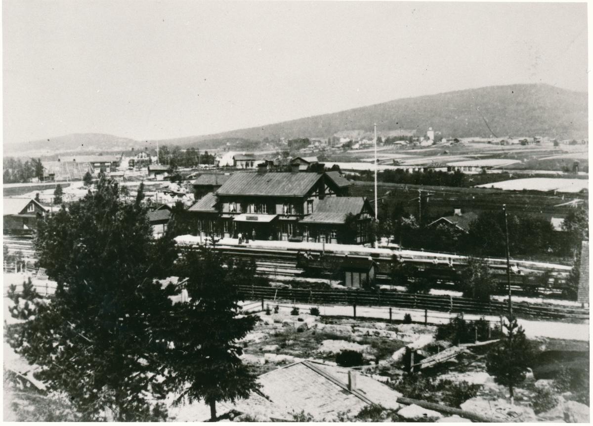Station anlagd 1884-86.