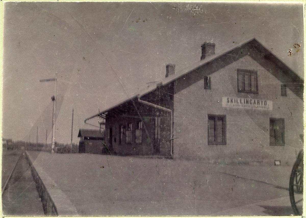 Skillingaryd station 1877.