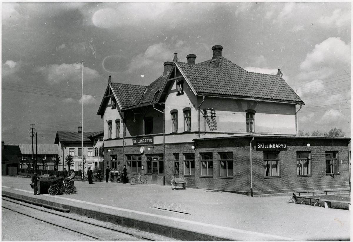 Skillingaryds station 1945.