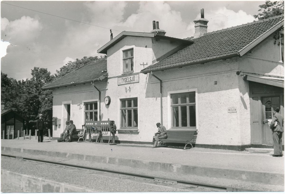 Tygelsjö stationshus