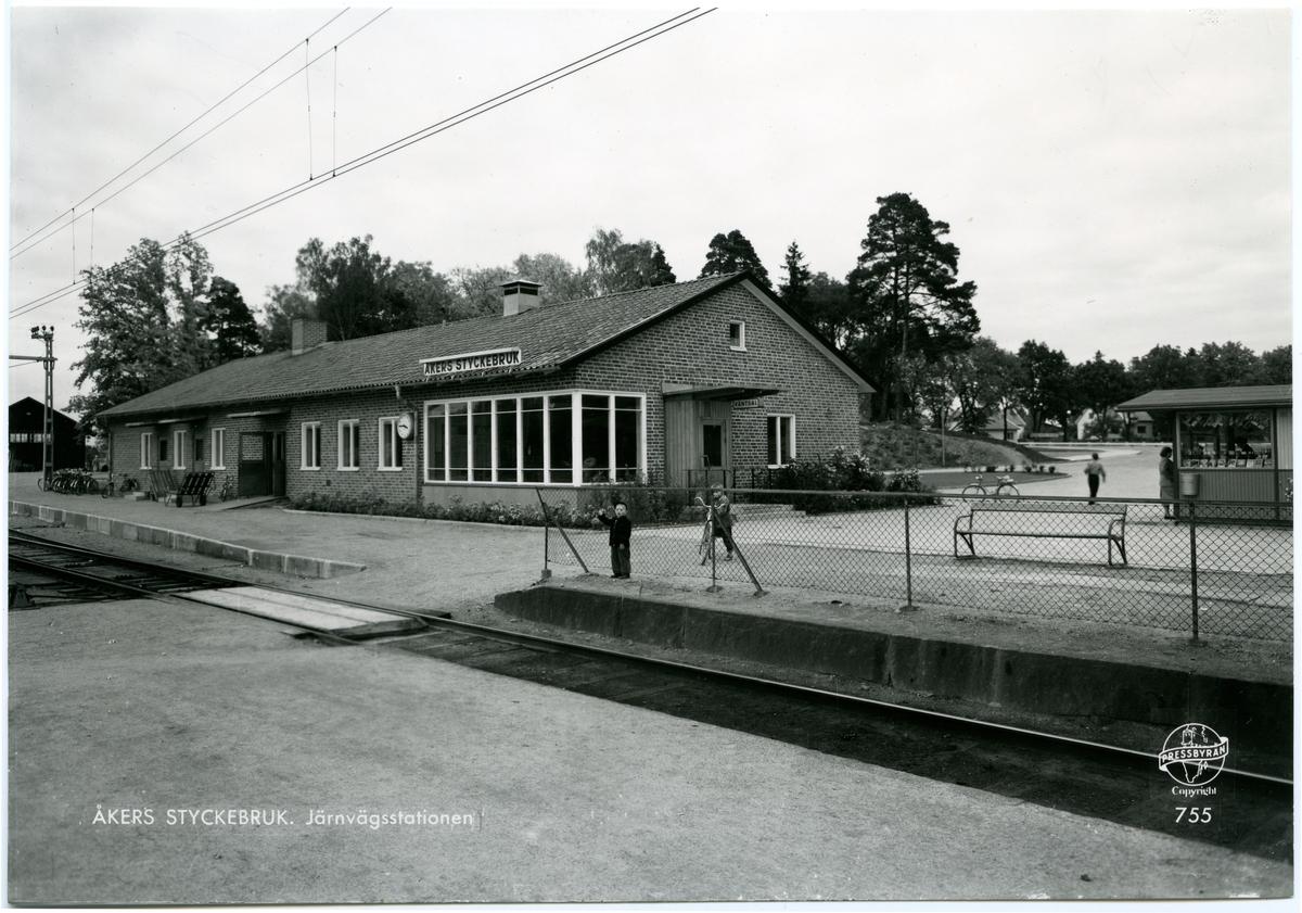 Åkers Styckebruk station.