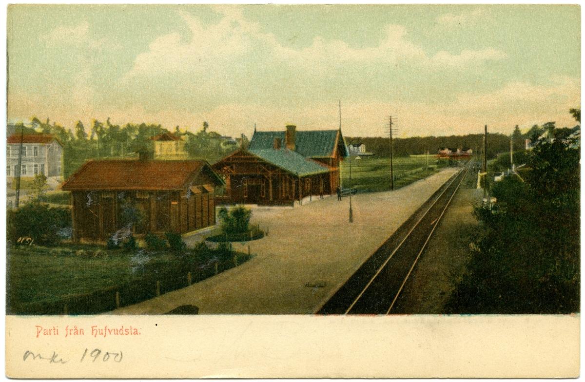 Huvudsta station
