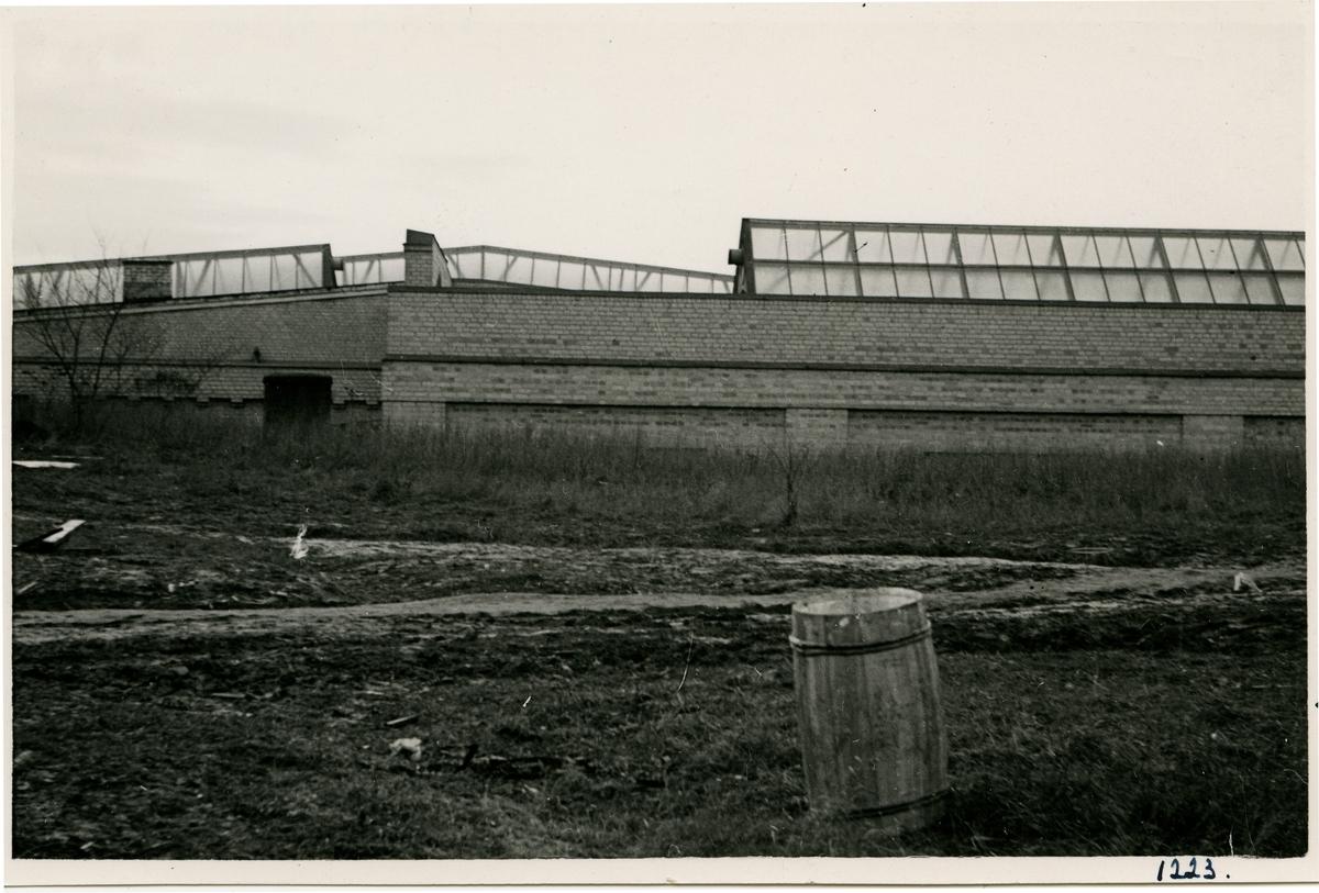 Verkstadsarbetarnas tvättinrättning vid driftverkstaden i Hagalund Övre.