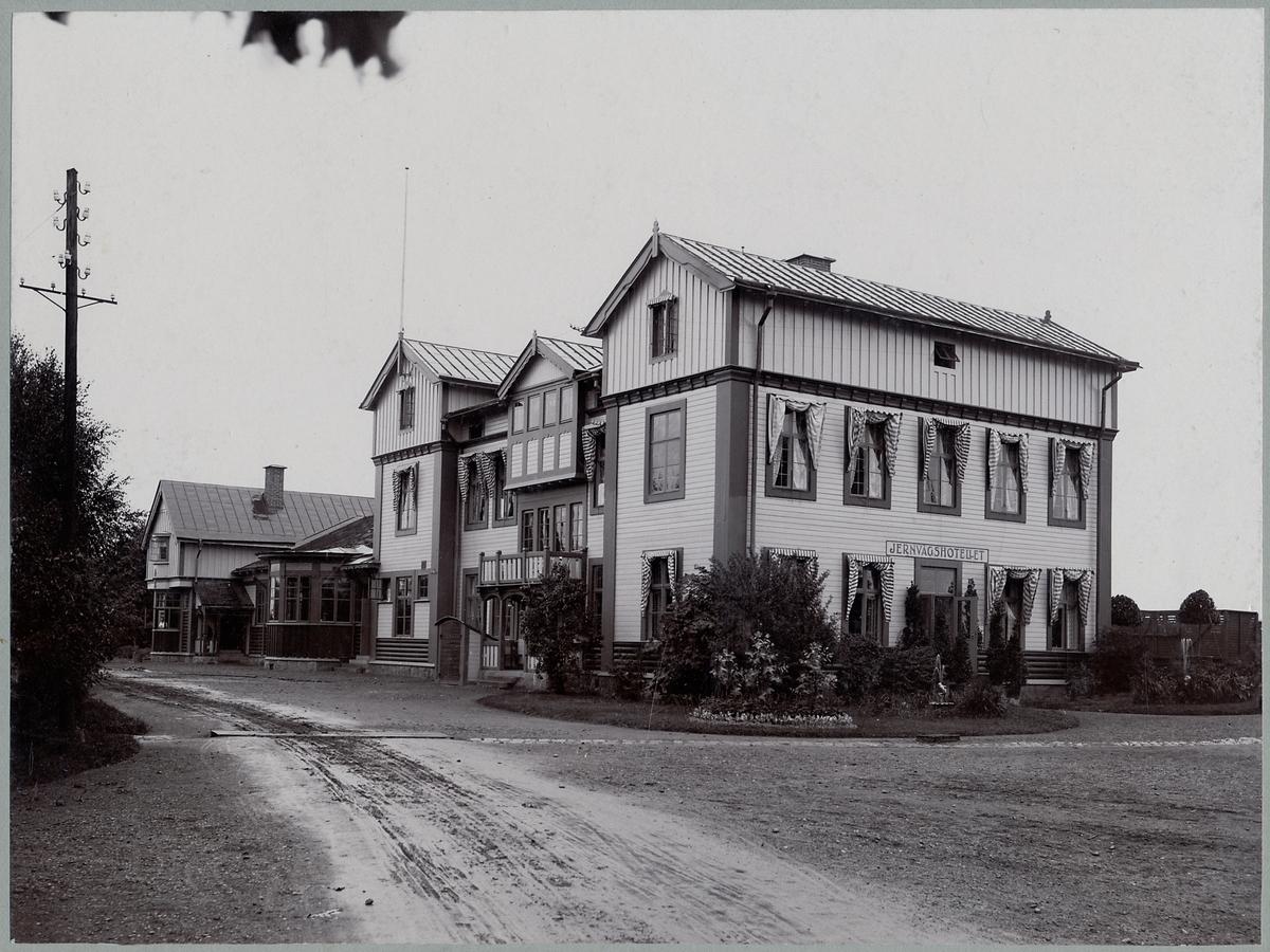 Järnvägshotellet i Storvik.