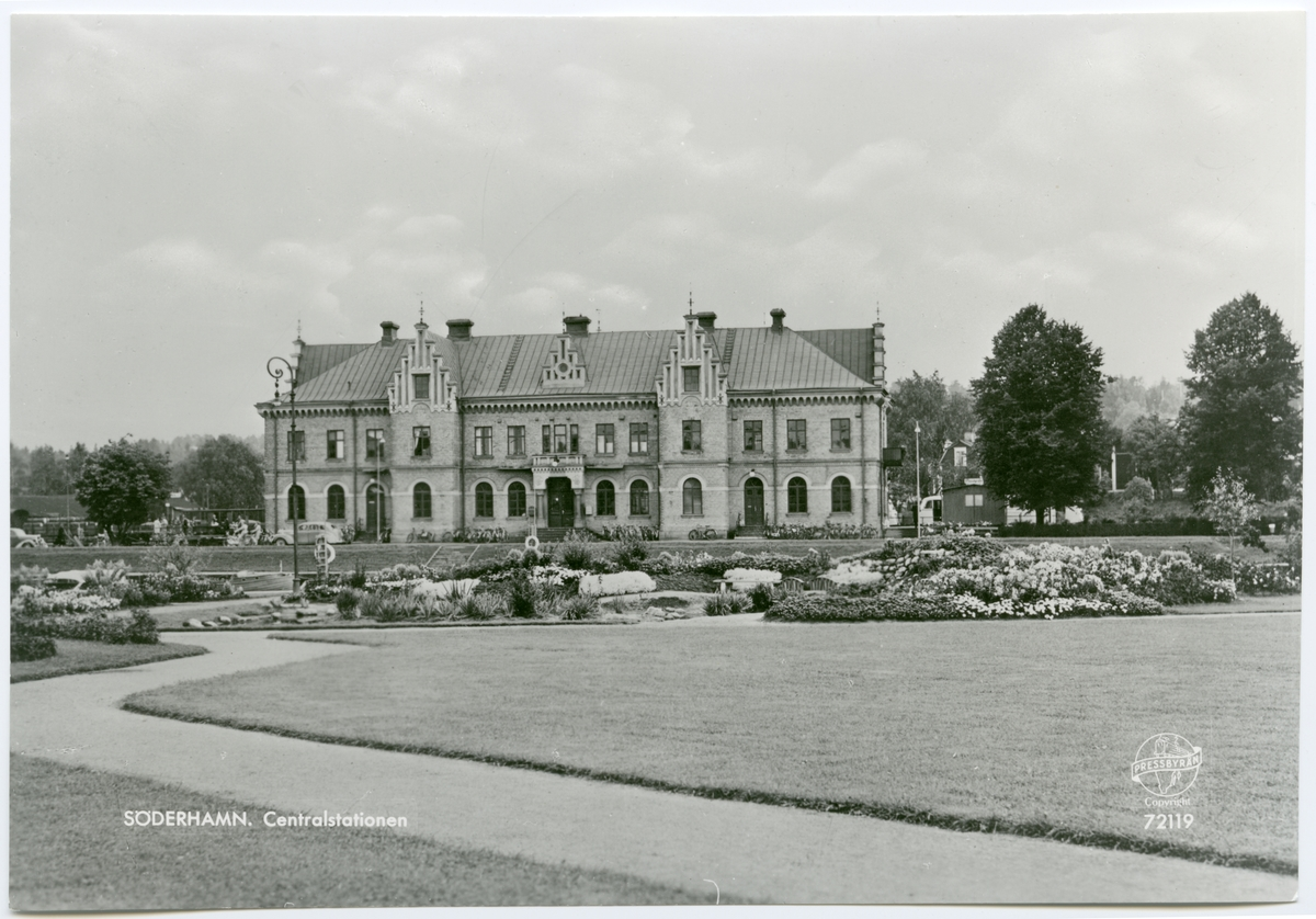 Söderhamns Järnvägsstation.