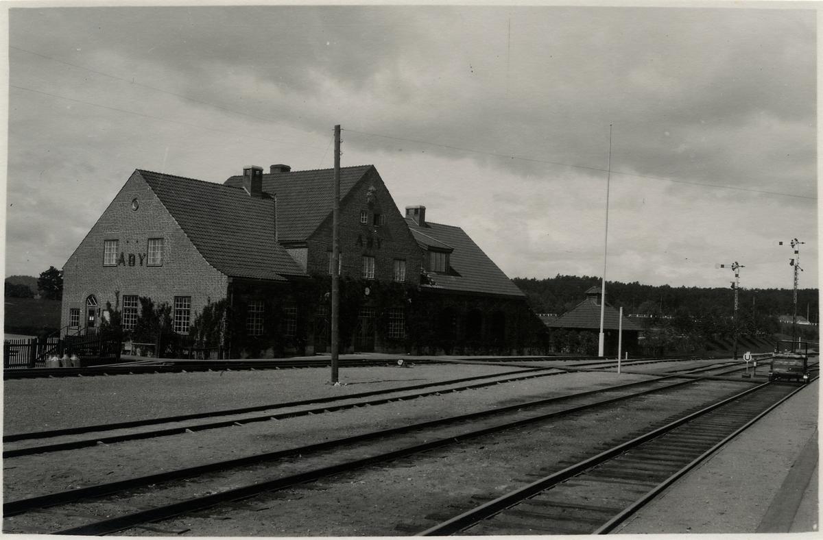 Åby station.