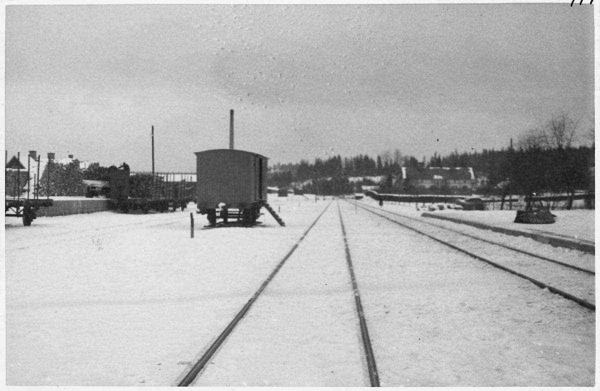 Skinnskatteberg station.