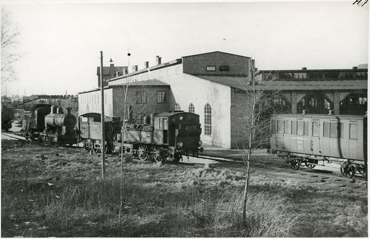 Lokstallet i Krylbo.
