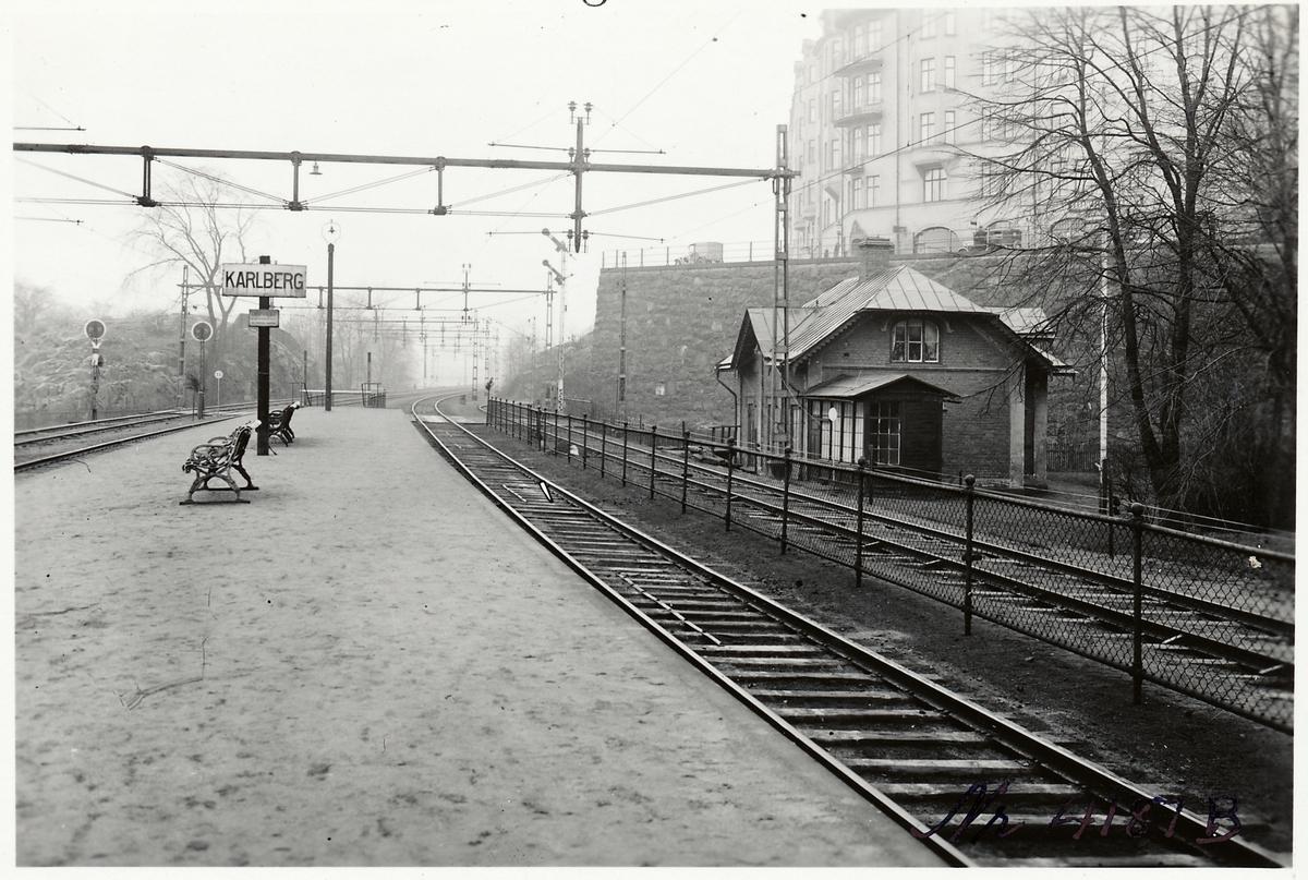 Karlbergs stationshus.
