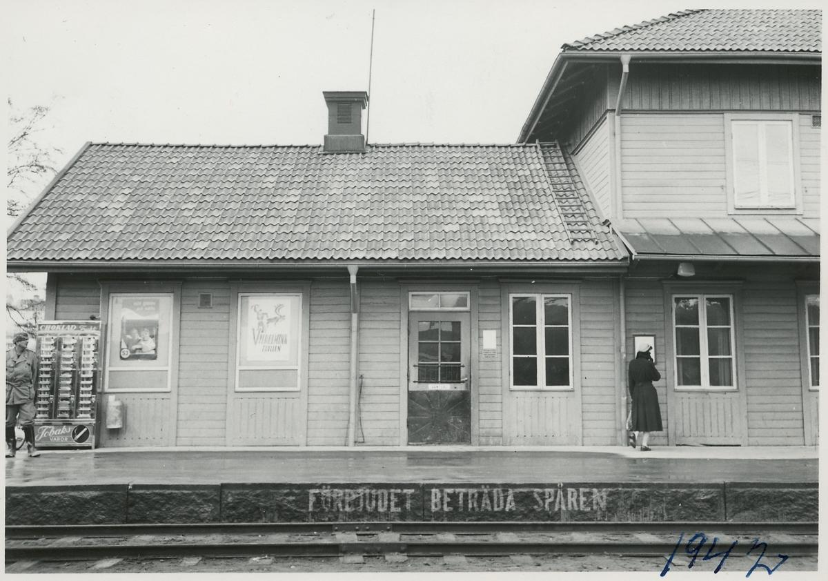 Stationshuset i Ljusdal.