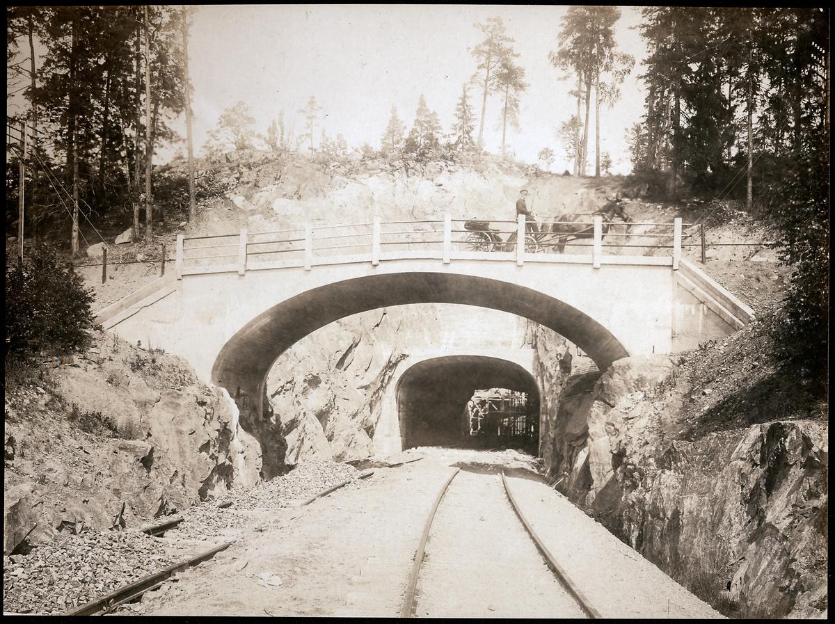 Tunnel vid Rönninge.