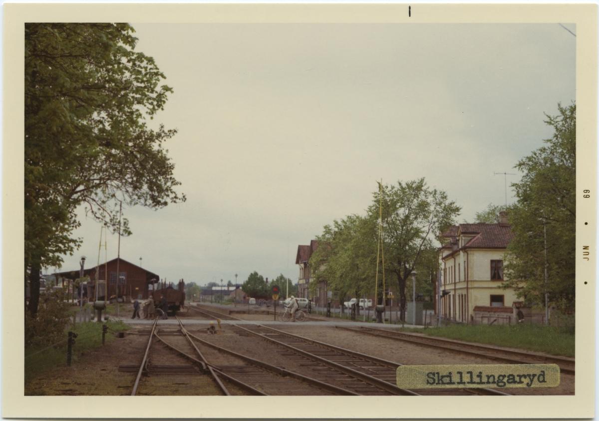 Skillingaryd station, byggd år 1939