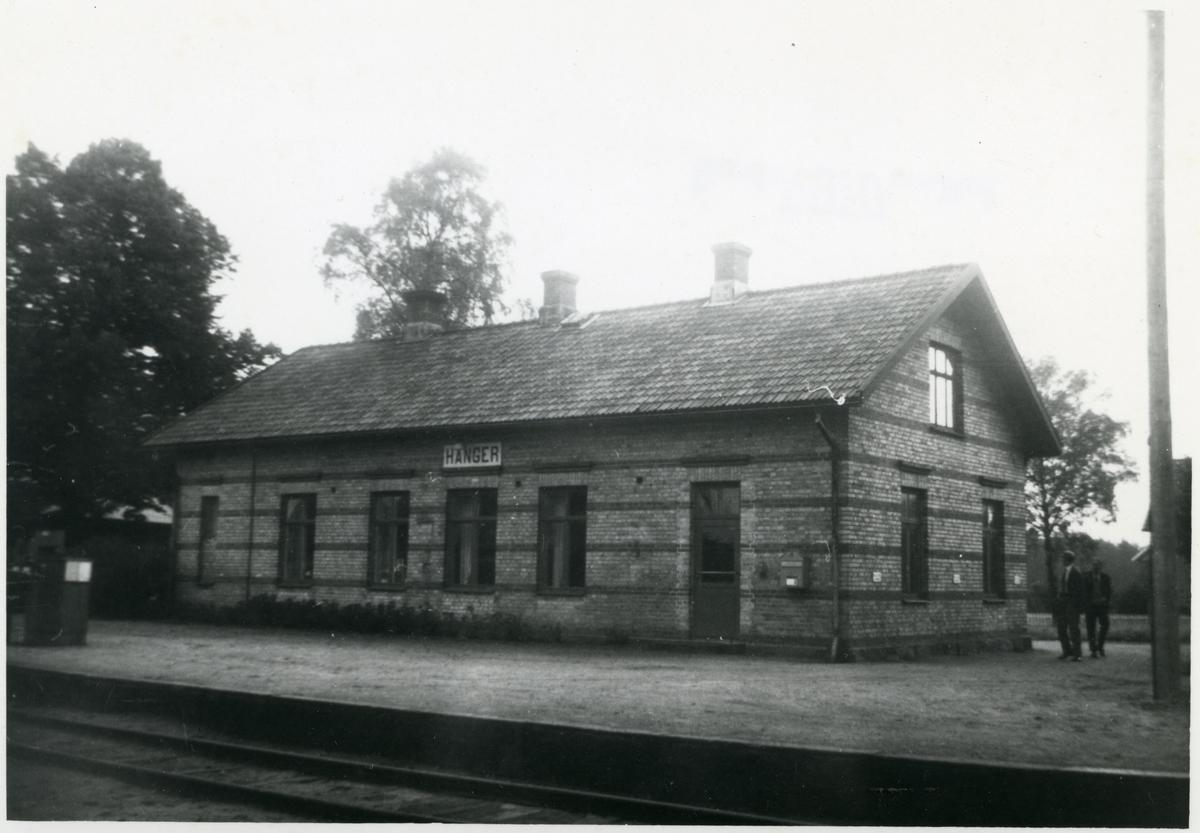 Hånger hus 1 Trafikplats anlagd 1898.