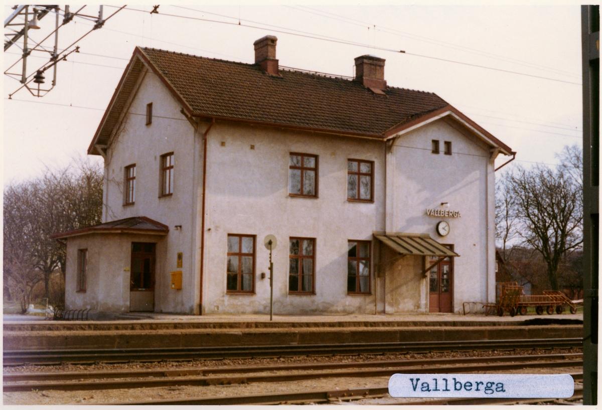 Vallberga station.