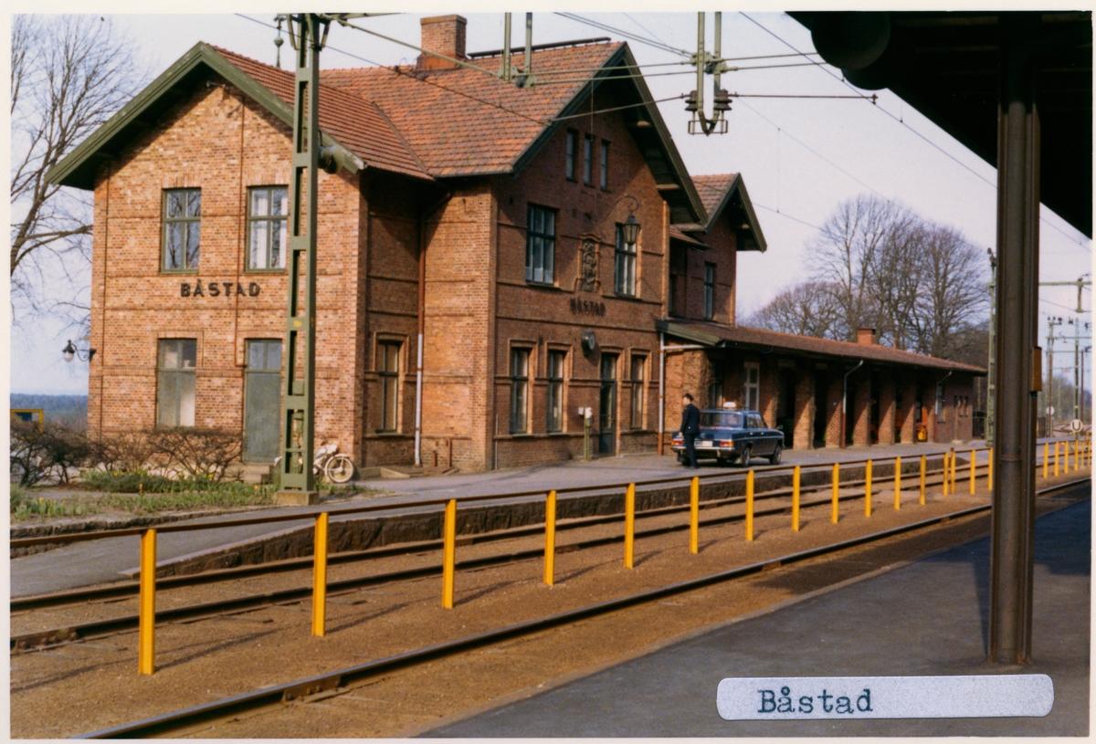 Båstad Södra järnvägsstation.