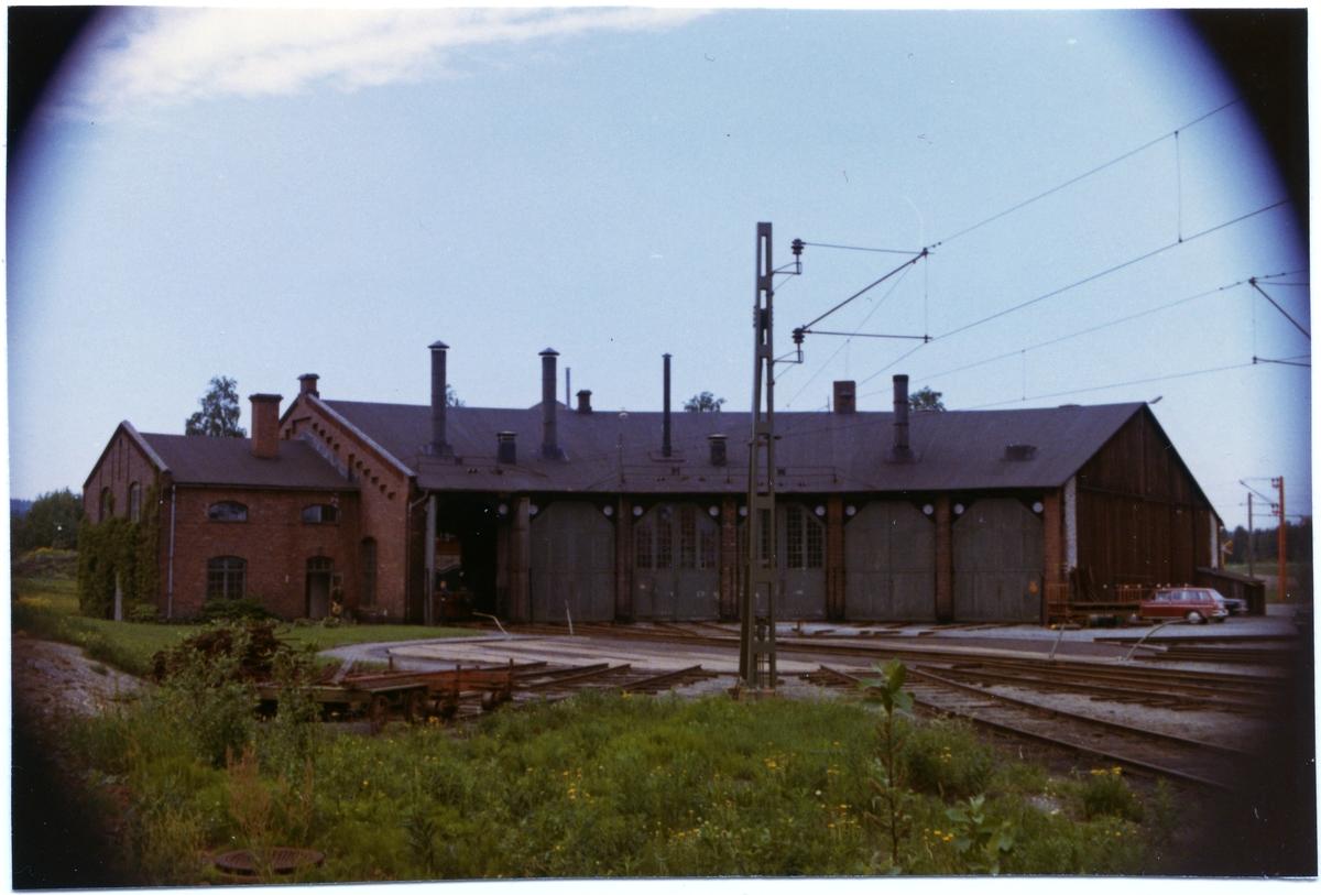 Lokstallet. Byggår 1910