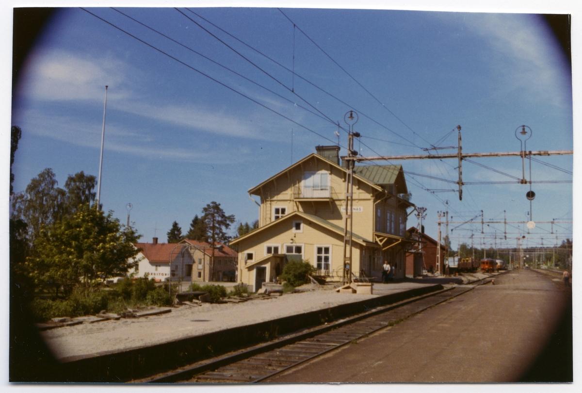 Vy över stationen
