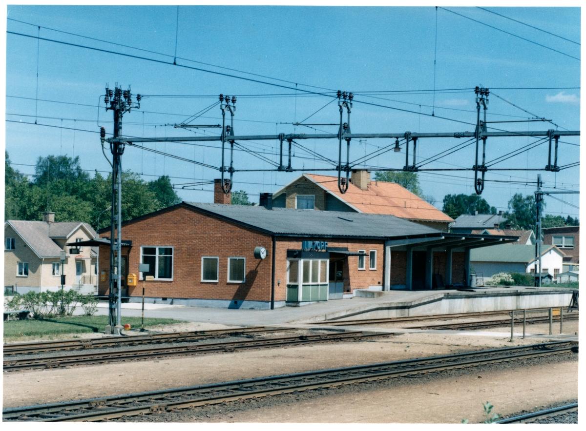 Envånings stationhus .