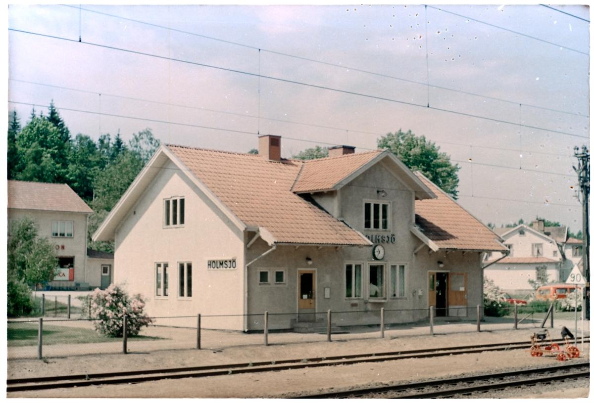 Holmsjö station.