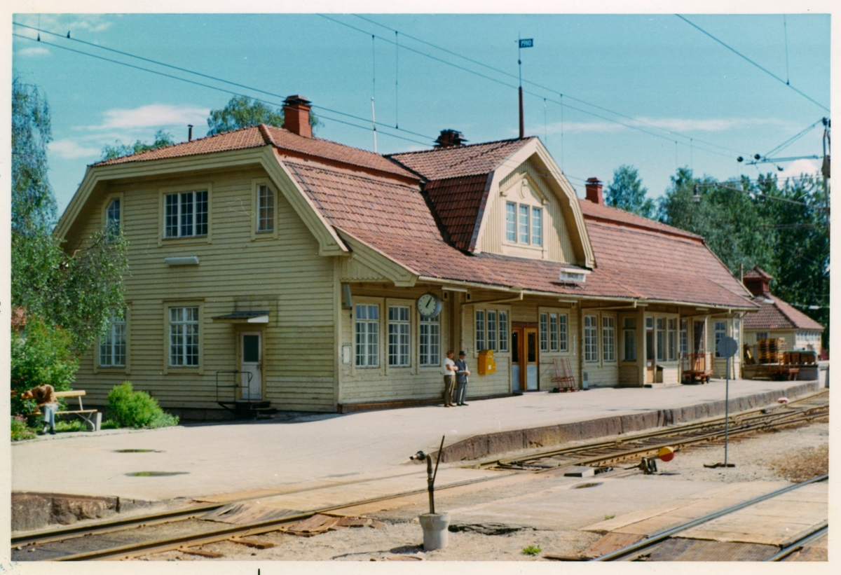 Bräcke stationshus.