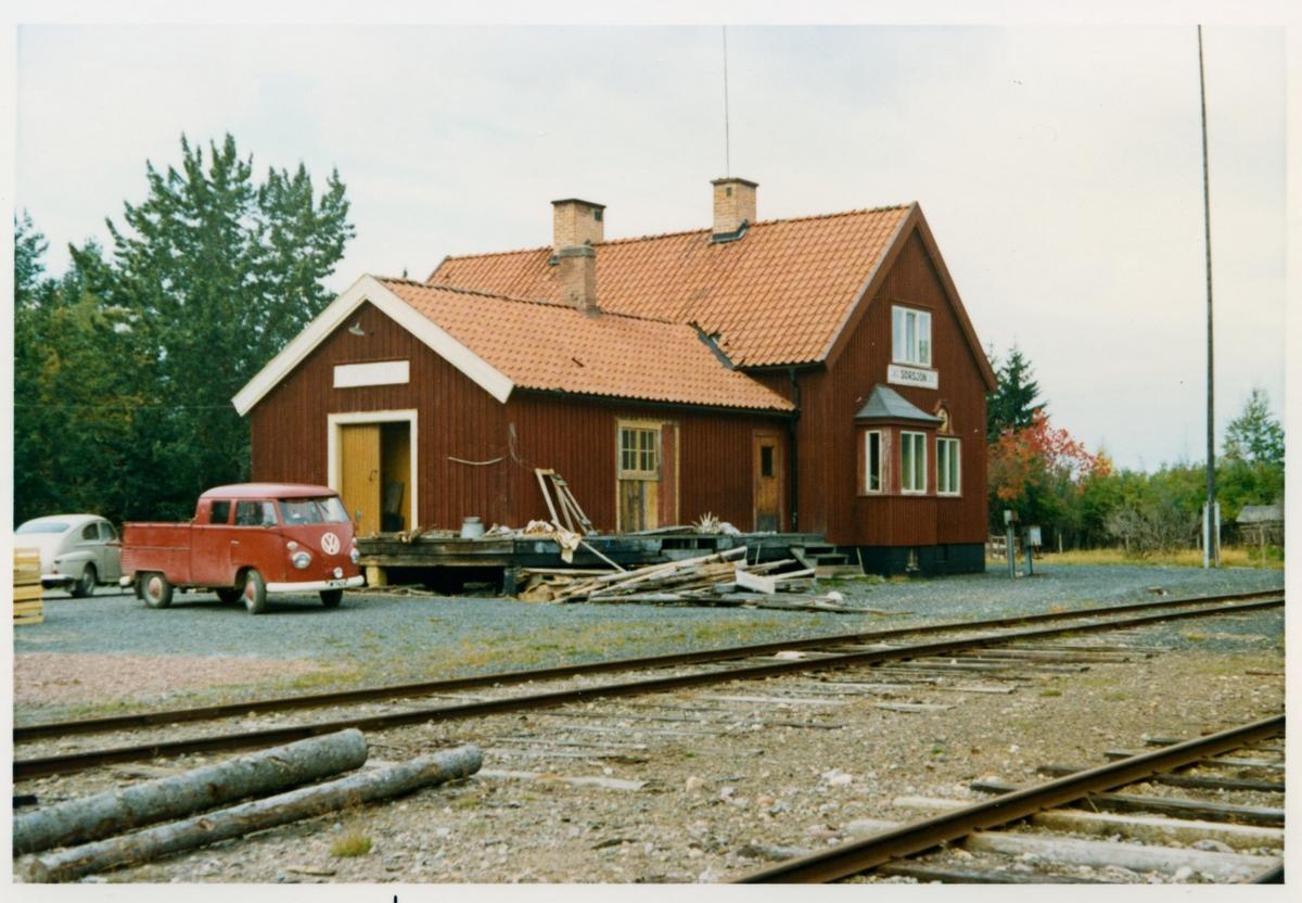 Sörsjön station.