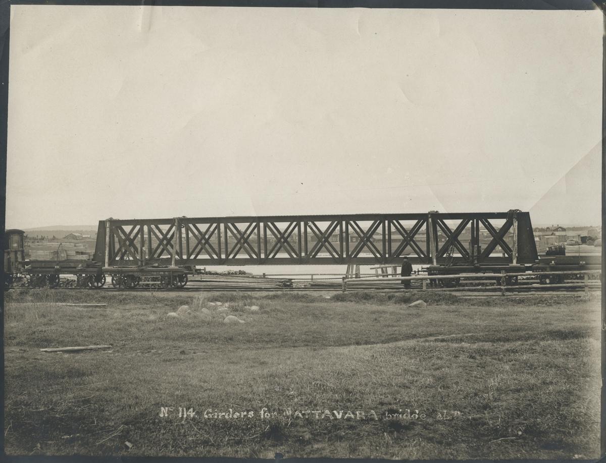 Broreglar för bron över Råne älv vid Nattavara