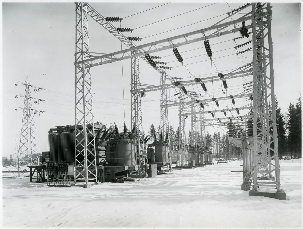 Transformatorstation.