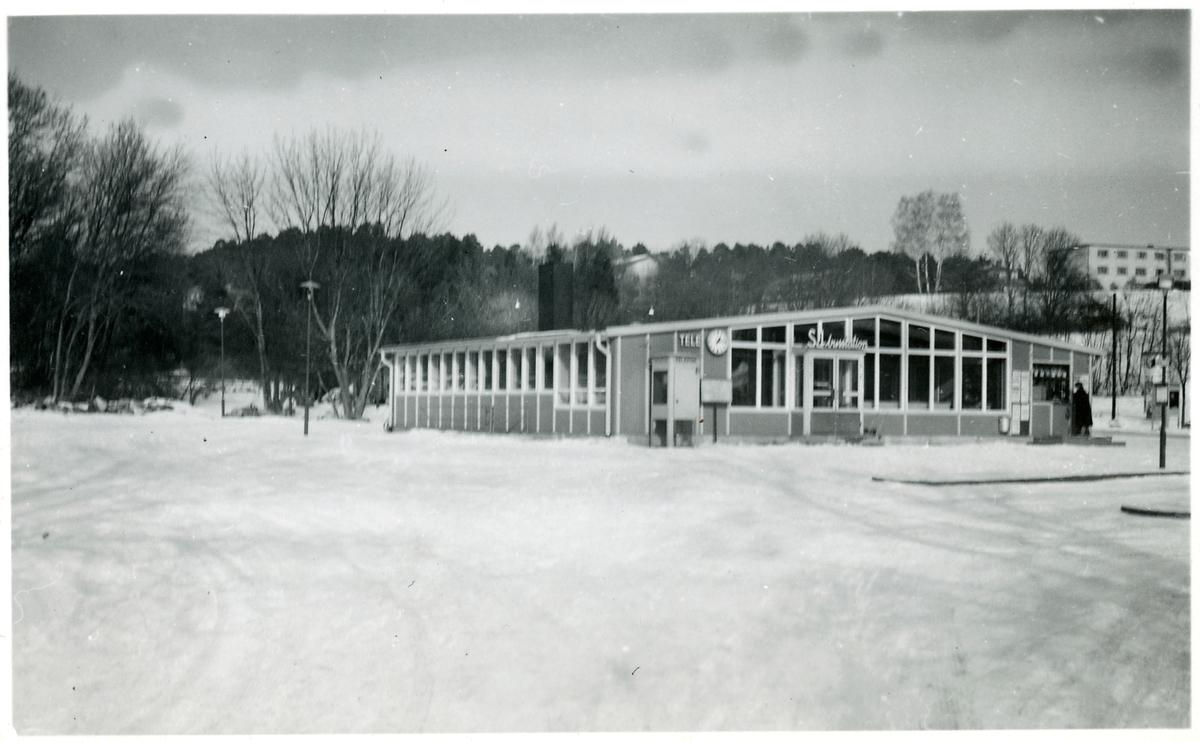 Sigtuna busstation.