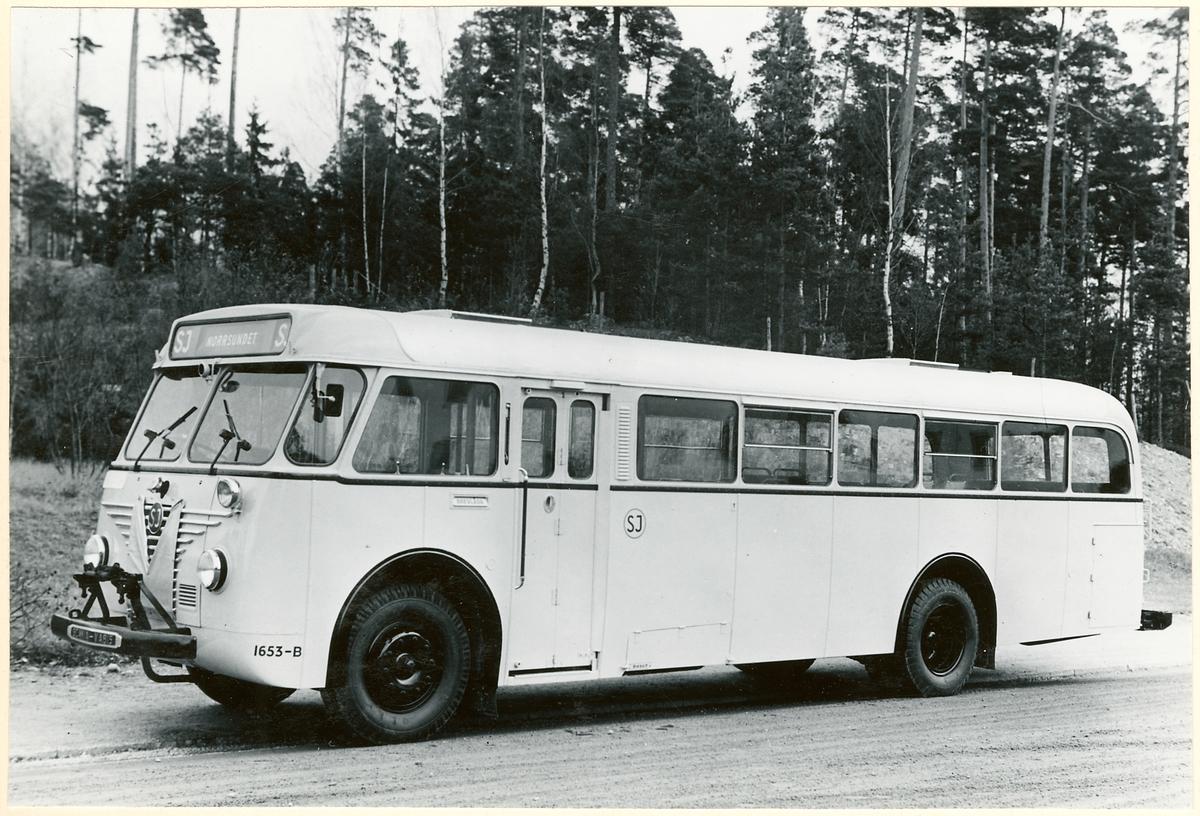 Statens Järnvägar, SJ buss 1653-B.