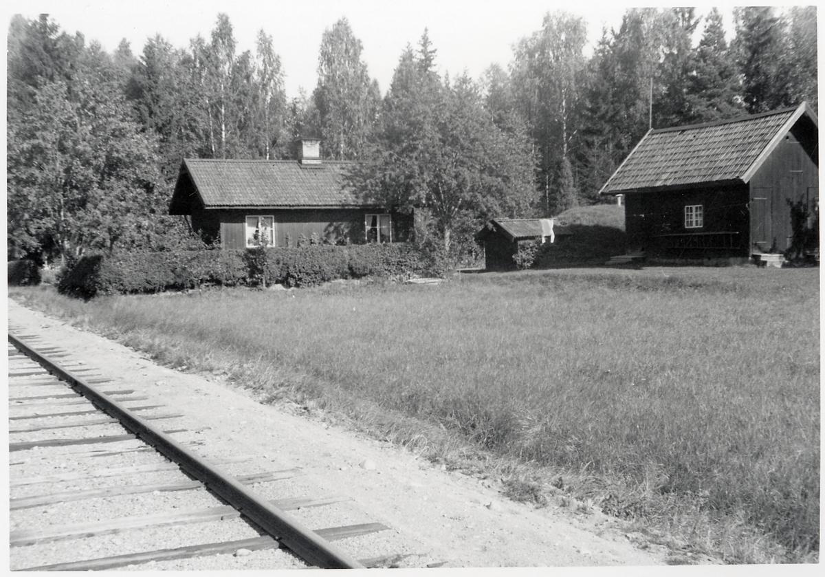 Björkäng banvaktstuga, på sträckan mellan Smedsäng och Gysinge.