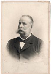Gustaf Jakob Tersmeden, trafikdirektör vid Sävsjö station.