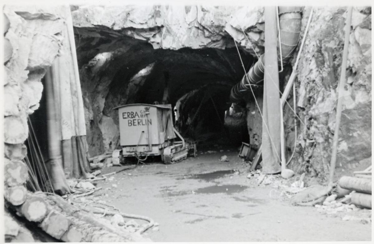 Ingång till gruva.