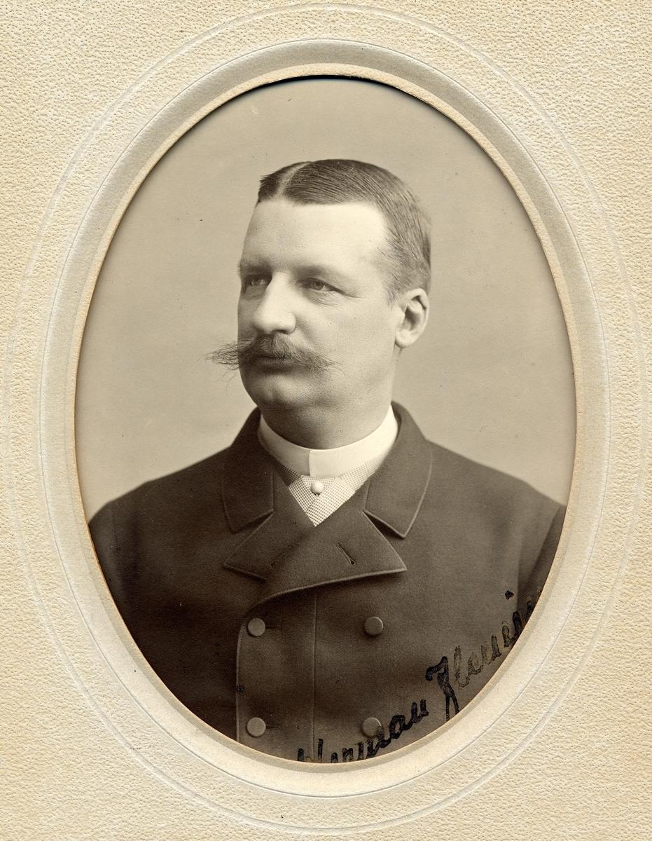Lars Gustaf Herman Fleming född 8/1 1845 död 8/3 1919 Stins Katrineholm 1874-1875