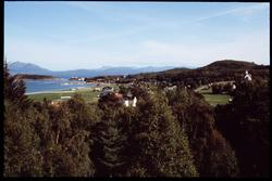Vy över Norges natur.